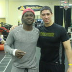 Antonio Brown and Dr. Lyneil