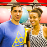 Lyneil and 2012 Olympian Chantae Mcmillan